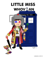 Little Miss Whovian by rcxdirectrix