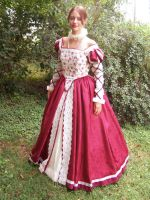 Elizabethan dress by alrach