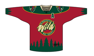 Minnesota Wild Jersey Concept by PD-Black-Dragon