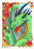 Autumn dragon by Diana-Silver-Wolf