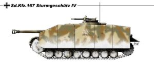 Stug IV by nicksikh