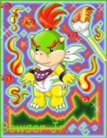 Bowser Jr. is NOT a baby XD by Bowser2Queen