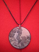 Art Nouveau Necklace by Groovygirlsuzy17