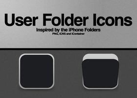 iPhone Folder Icons by SuiteDesign