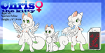 Me Chris the Kitty - Ref sheet by ChrisTheKitty