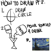 HOW TO DRAW PT 2 by glitchedgalaxy