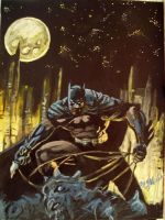 dark knight by cliford417