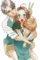Hirunaka no Ryuusei Render by bloomsama