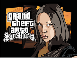 Grand Theft Auto Vector Images by Shahberam