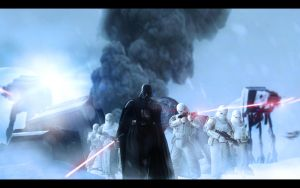 Hoth Attack by LordofCombine