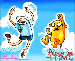Adventure Time Fan Art by LadyKuki
