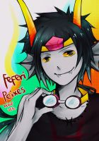 Homestuck - Male!Feferi Peixes by Shiric