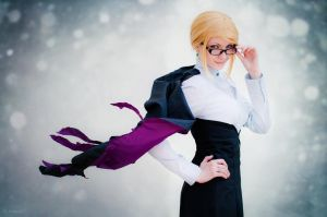 Cosplay Glinda Goodwitch (RWBY) by SeltyReaper