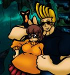 Velma and Johnny Bravo by Inya-spring