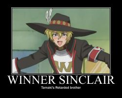 Winner Sinclair by tracey32713
