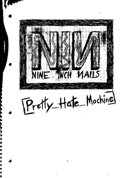 Pretty Hate Machine Drawing by NIN-on-DA