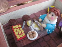 Using the rolling pin... by SelloCreations