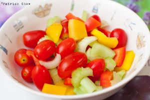 Colorful salad by patchow