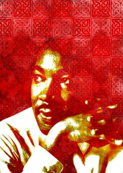 Martin Luther King by Teakster