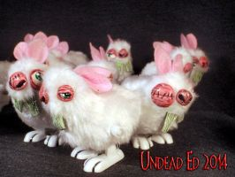 Bubonic Bunny Windup Hoppers by Undead Ed 3 by Undead-Art