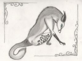 Grey wolf for Mewgon1 by Kingoftheplatypus