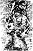 NEW CONAN ART by gammaknight
