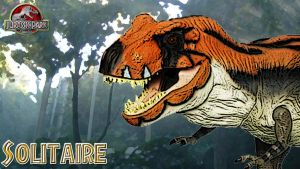 Solitaire - Live the Legend : Jurassic Park RPG by tyrannosaurtj