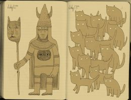 cat cult by ivegotworms