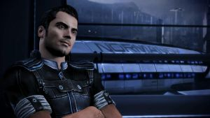 Kaidan and the Normandy - Mass Effect 3 by loraine95