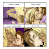 :Klapollo Kiss Meme: by CharlieIsAMystery