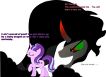 Sombra and Starlight - My Favorite MLP villains by Nukarulesthehouse1