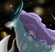 Suicune by Meraence