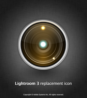 Lightroom 3 Lens Icon by arahel