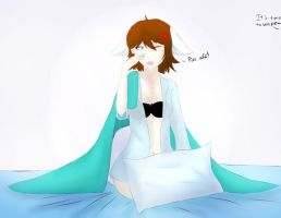 'It's time to wake-' by xShiro-no-Musumex