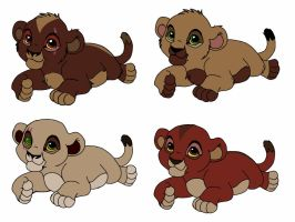 Zira x Scar : cub adopts closed by CyanSapphire