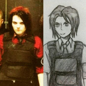 I Miss Drawing Gerard SO MUCH by MarvaNinella