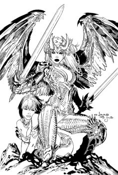 Inks: Angelus by Ebas by JimCampbell