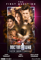Doctor Who 50th Anniversary Special - Fan Poster 3 by SuperDude001