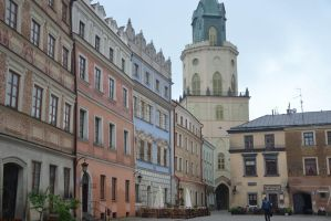 Old city of Lublin 4 by Risandell