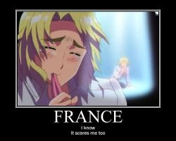 APH: motivation poster: France by wrath7734