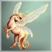 Pixie Horse ! by Mikonow