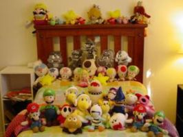 My Mario Plush Collection by HayzyKids