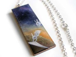 Let Go - Pendant Necklace by sobeyondthis