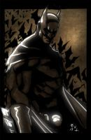 The Batman sketch by ErikVonLehmann