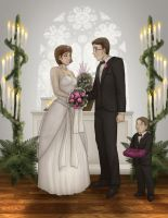 Mag and Charlies wedding Commission by Destinyfall