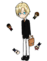 DR Chibis 1 by Masume
