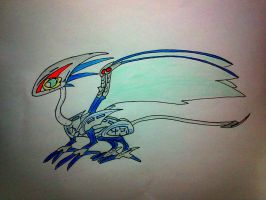 No.4 Guardian of the Sky (adoptable) by minecraftmobs456