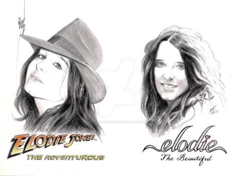 Two Amazing Sides of ELODIE by Vijay-Artman