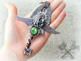 How to Train your Dragon Toothless Key Auction by ArtByStarlaMoore