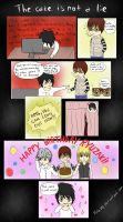 The cake is not a lie (Happy Birthday, L! ) by RoMin-ah